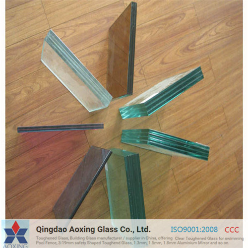 Clear/Color/Wire Glass/Silk-Printed/Laminated Glass Manufacturer pictures & photos
