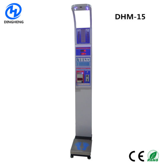 Bench Scale Type Coin Operated Price Computer Weight Height Body Fat Healthy Measuring Machine Weighing Scales