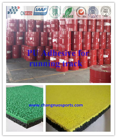 Factory Sell PU Glue for Plastic Runway, Sports Flooring, Gym Track