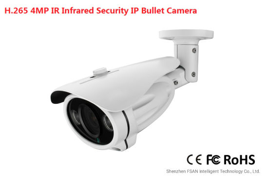 Fsan 4.0/5.0MP IR Infrared Waterproof HD Network CCTV Security Bullet Camera