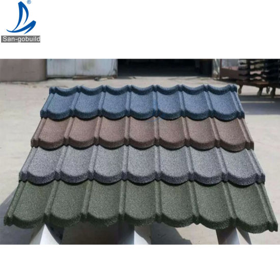China Excellence Heat Insulated Natural Stone Chips Roofing Sheets Prices In Ghana China Stone Coated Metal Roofing Tile Aluminum Zin Roofing Sheet