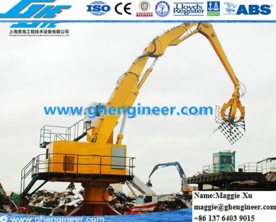 Steel Slag Clinker Scrap Loading Crane pictures & photos