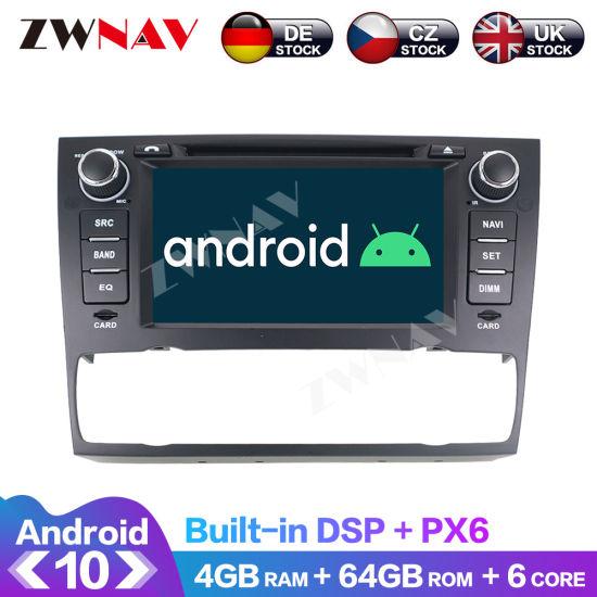 Android 10.0 Car Radio for BMW E90 E91 E92 E93 3 Series 2005-2012 Multimedia Player GPS Navigation 64G Px6 Auto Stereo Head Unit DSP
