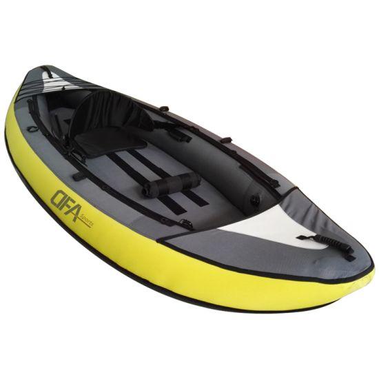 Dfaspo Wholesale Professional Rowing Fishing Canoe Sit on Inflatable Fishing Kayak Manufacturers