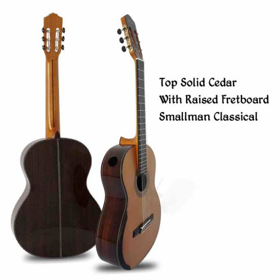 Custom Grand Aiers Master Grade Man Small Classic Guitar with Raised Fretboard and Single Port