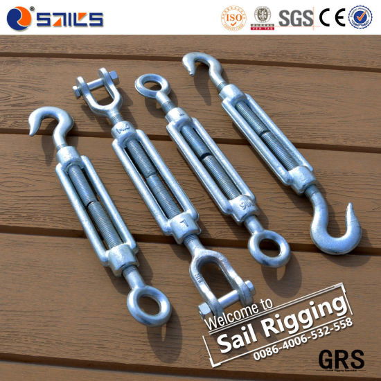 China Lifting Hardware Construction Rigging Wire Rope Turnbuckle ...