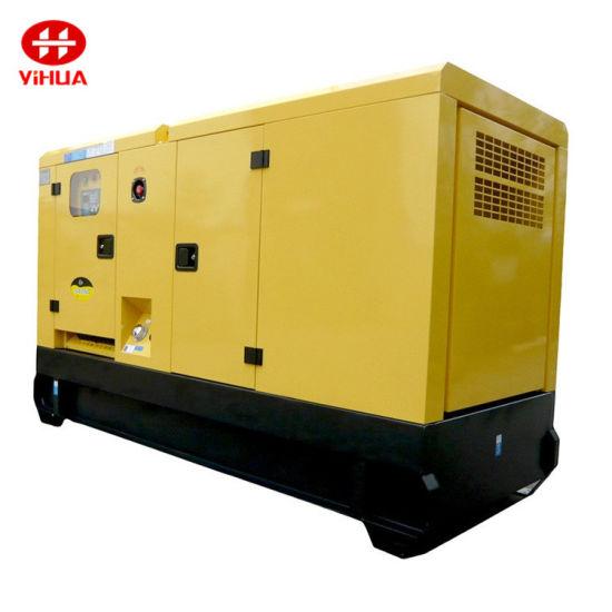 120kw/150kVA Chinese Nantong Soundproof Diesel Generator Sets