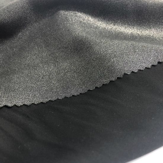 Plain Polyester PA Imitation Memory Wind Jacket Fabric /150d PA Polyester Imitation