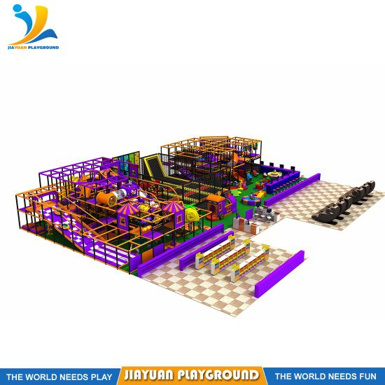 Trampoline Kids Soft Indoor Playground Amusement Park