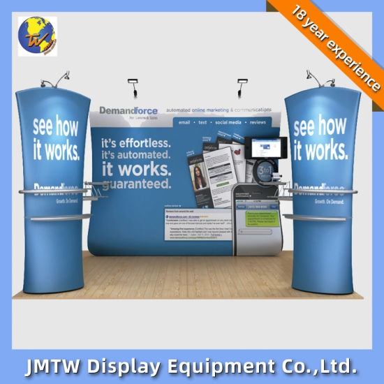 Fabric Backdrop Banner Stand for Trade Show with Three Part pictures & photos