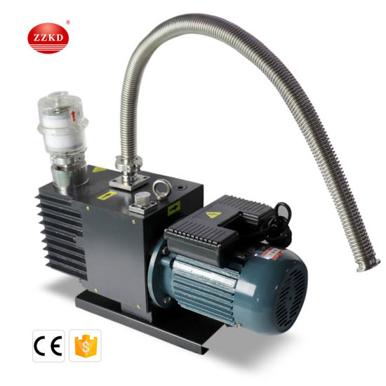 Stainless Steel High Speed Direct Drive Rotary Vane Vacuum Pump Oil Free