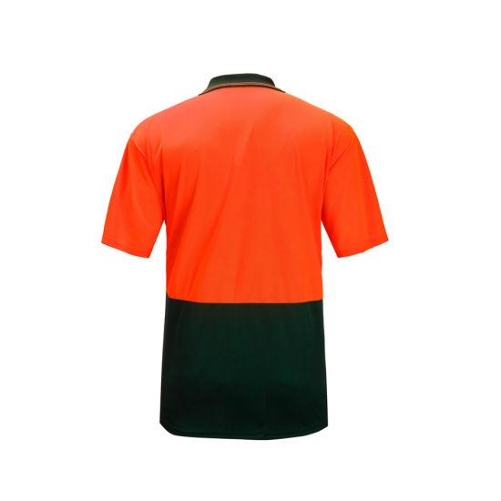 Safety Work Hi Viz Reflective Customized T-Shirt Apparel Uniform