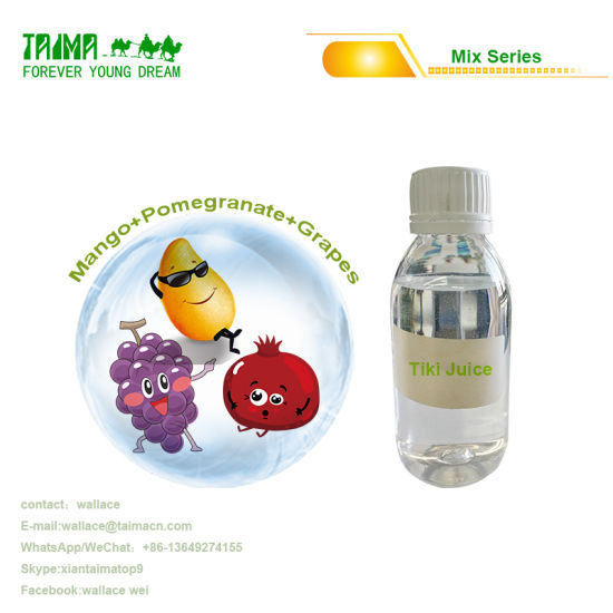 High Quality Tobacco Flavor Concentrate Mix Flavors for Electronic Cigarette Tiki Juice Little Green Man Mojito Pg Vg Based pictures & photos
