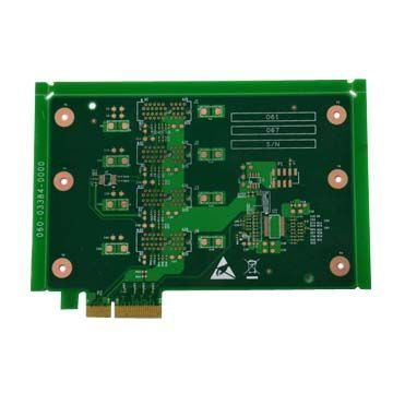 OEM Circuir Board 2 to 6 Layers Gold Finger PCB Board Supplier