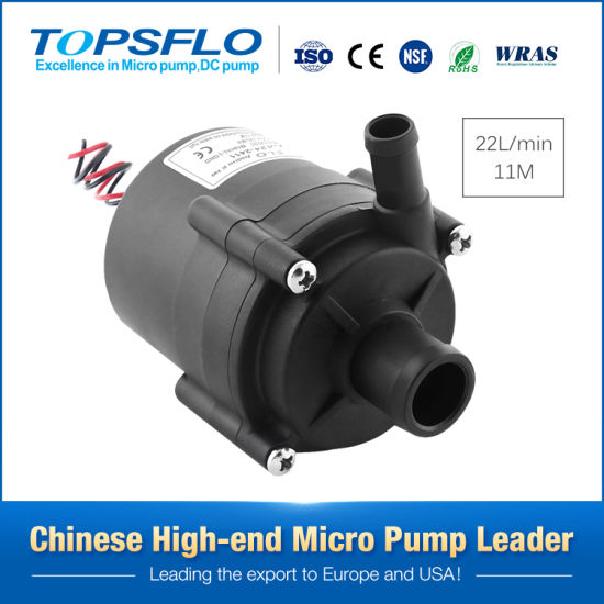 Long Lifetime High Performance 12V or 24V DC Mini Hot Water Centrifugal Pump Electric Small Submersible Circulation Water Pump