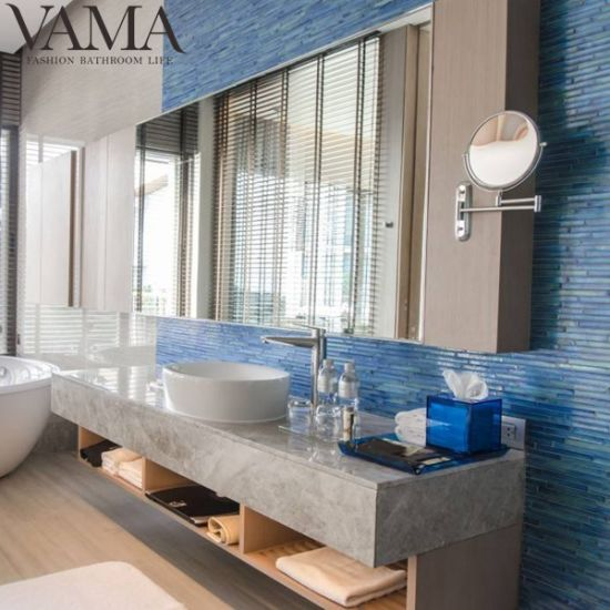 China Vama Hilton Hotel Quartz Table Top Modern Bathroom Cabinet Furniture China Hotel Bathroom Vanity Cabinet Chinese Bathroom Cabinet For Hotel