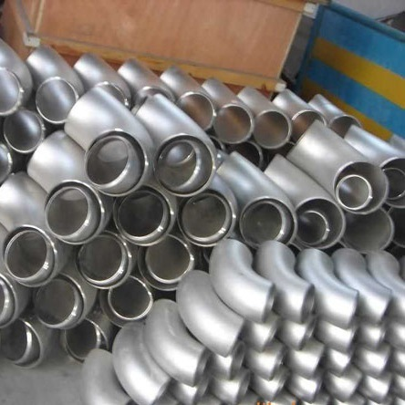 Steel Pipe Fittings 90 Degree Elbow Seamless Welding Steel Pipes and Fittings