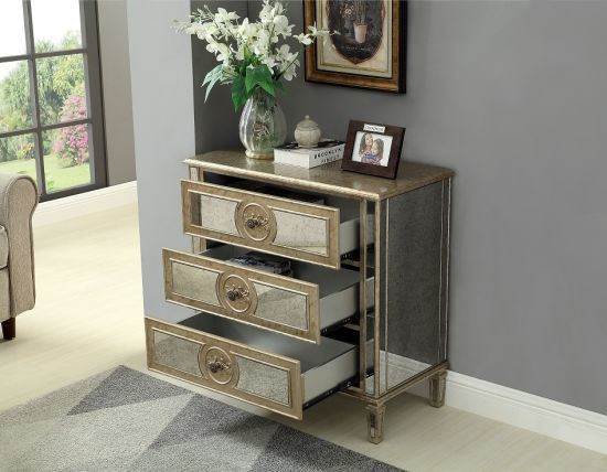 Glass Bedside Table Mirrored, 3 Drawer Mirrored Bedside Table Very