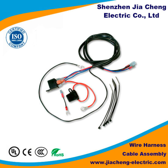 China Car Series Wire Harness 4 Pole Trailer Plug China Electrical Wire Harness Wire Harness Equipment