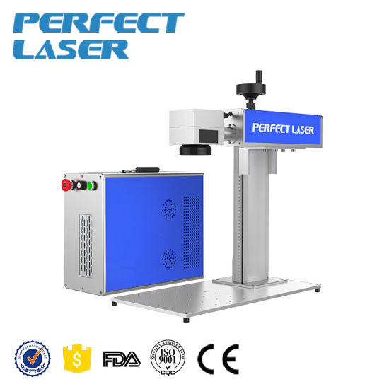 Meal Color Fiber Laser Marking Engraving Cutting Machine for Matal