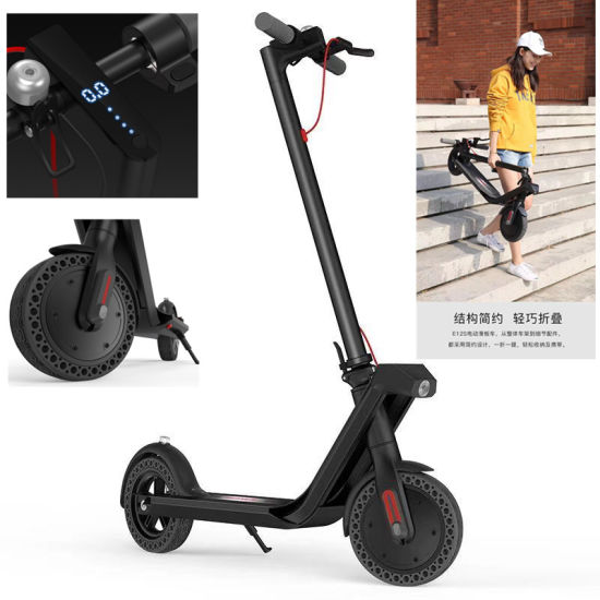 New Design 8.5inch 2 Wheels Foldable Electric Mobility Scooter with Special Wheels pictures & photos