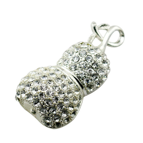 Crystal USB Memory Pendrive Necklace Jewelry USB Stick pictures & photos