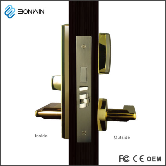Wireless Hotel Door Lock with 500m Sub-GHz Long Distance Control pictures & photos