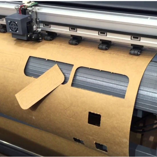 Max Cutting Width 1750mm Apparel Cutting Plotter pictures & photos