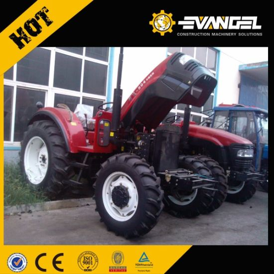 Cheap Price Lutong Small Farm Tractor Lt554 55HP 4WD pictures & photos