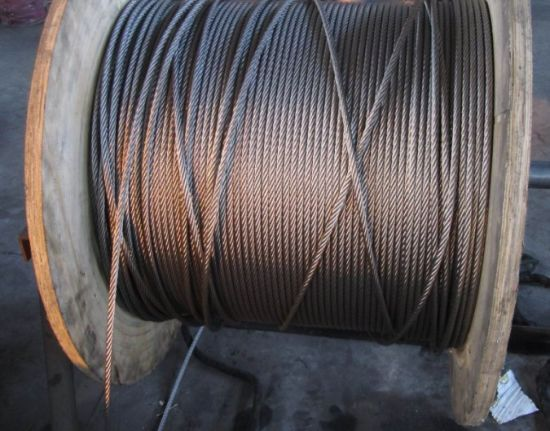 7 Strands Stainless Steel Wire Rope, 16mm Steel Wire Rope for Crane pictures & photos