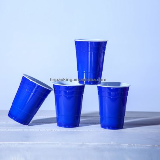 Disposable Colorful Plastic Cup (YH-L146) pictures & photos