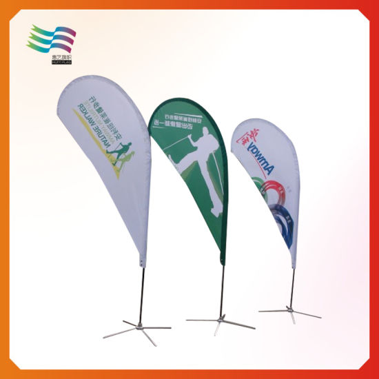 High Quality Wholesale Advertising Beach Flag pictures & photos