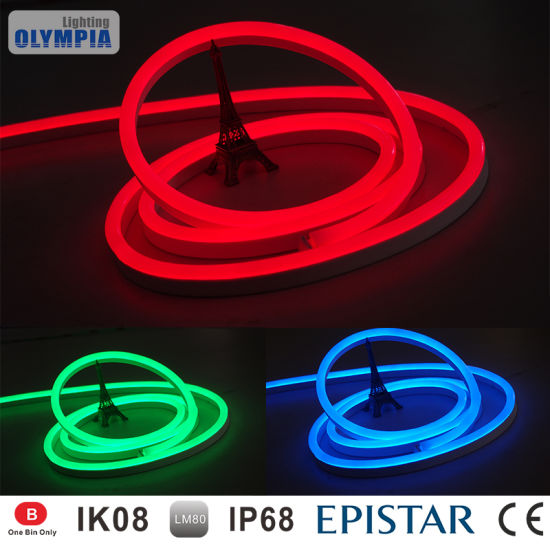 China color changing 24v rgb led flexible neon rope light china color changing 24v rgb led flexible neon rope light aloadofball Images