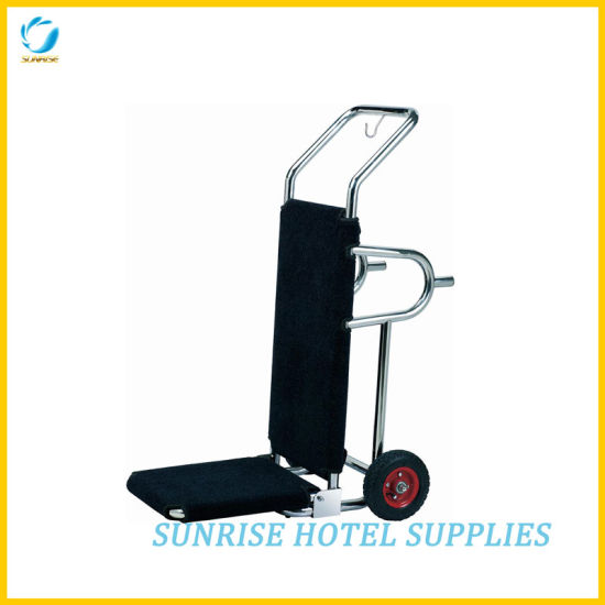 Heavy Duty Stainless Steel Hand Truck for Hotel