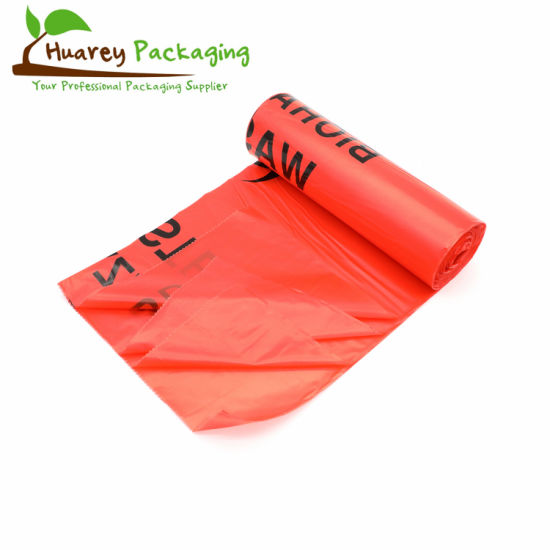 Good Quality Chemo Biohazard Infectious Hazardous Medical Waste Bags on Roll