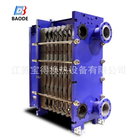Titanium Plates Gasket Plate Heat Exchanger Cooling Oil and Water pictures & photos
