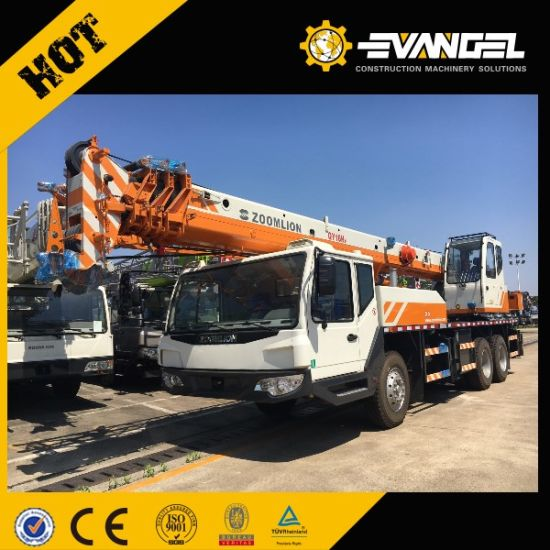80ton Large Zoomlion Wheel Truck Crane QY80V533 pictures & photos