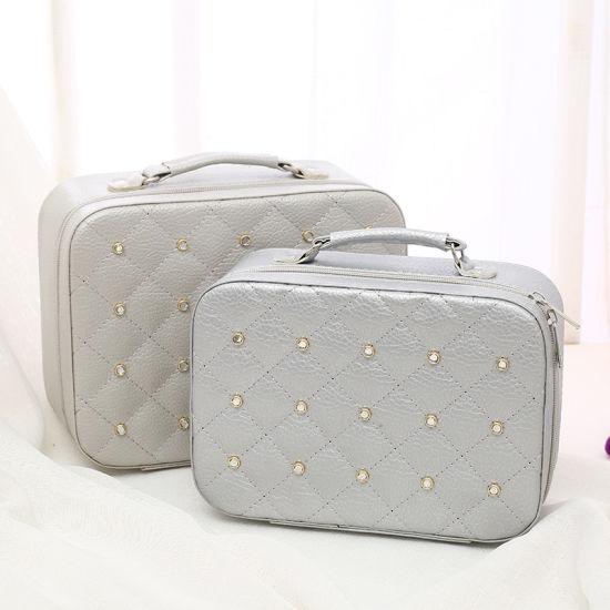 Customized Models Large Capacity Hardening Cosmetics Storage Handbag