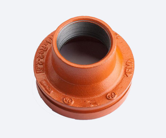 FM/UL Certificated Ductile Iron Pipe Fittings Threaded Concentric Reducer for Pipe Transportation