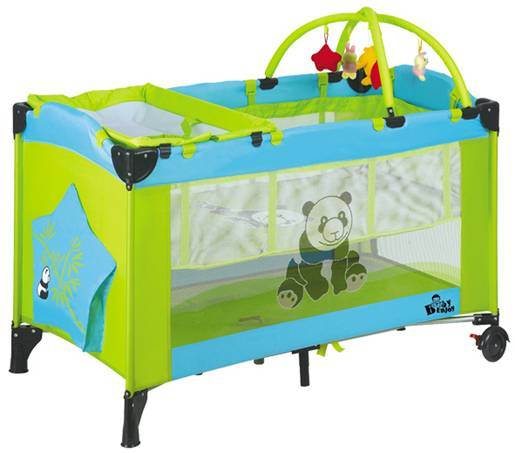 Hot Sales Portable Kids Bed Baby Playpen with Canopy and Mosquito Net pictures & photos