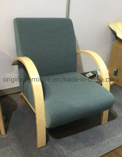 China Single Size Sofa With Arm, Bent Wood Arm Recliner