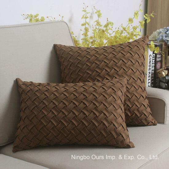China Manufacturers Hand Made Decorative Pillow Case Car Office Sofa Adorable Decorative Pillow Manufacturers