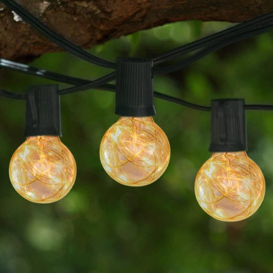 Outdoor G40 Globe String Light String for Wedding Party Holiday, New Year, Birthday Decoration Light pictures & photos