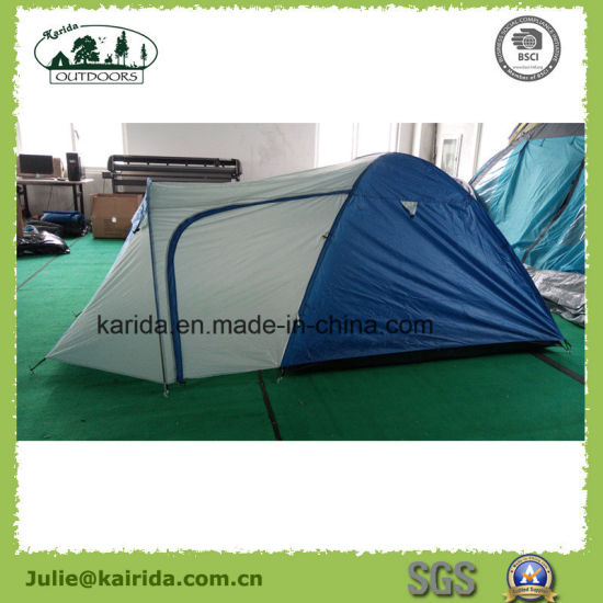 Four Men Waterproof C&ing Tent with a Living Room & China Four Men Waterproof Camping Tent with a Living Room - China ...