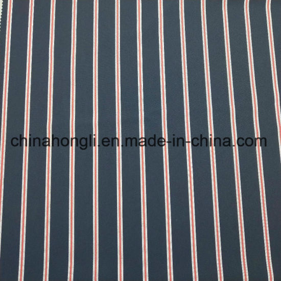 Stripe Polyester Spandex Fabric for Uniform