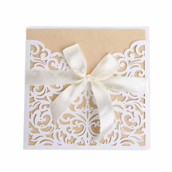 Wedding Invitation Cards With Envelopes Seals Personalized Printing