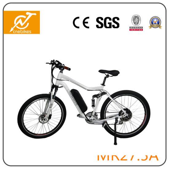 2017 New Green Aluminium 36V 350W Electric Mountain Bike for Sale