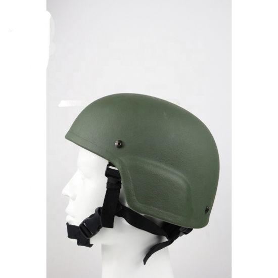 Olive Green Mich Helmet Tactical Ballistic Bulletproof Helmet for Military