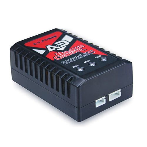 110/220v AC power input Balanced RC charger for 2 -3 Cell LIPO Batteries  Maximum Output Charge Current: 900MAH per cell  Provides light to indicate charge state of each cell  For: 7.4 Volt 2 Cell LIPO Battery or 11.1 Volt 3 Cell LIPO Battery  Standby: Green Charging: Red Full: Solid Green  UPC: N/A SKU: 28347 Categories: Rc Chargers, HSP 1/10 Scale Booster 94107, HSP 1/10 Scale Crusher 94601, HSP 1/10 Scale BadBoy Drift 94123, HSP 1/10 Scale Extreme 94122, HSP 1/10 Scale Kasa Pro 94103, HSP 1/10 Scale Mongoose 94602, HSP 1/8 Scale Planet 94060Top2, HSP 1/10 Scale Viper 94603, HSP 1/10 Scale XSTR-TOP 94107 Brands: HIMOTO RACING, HSP RACING