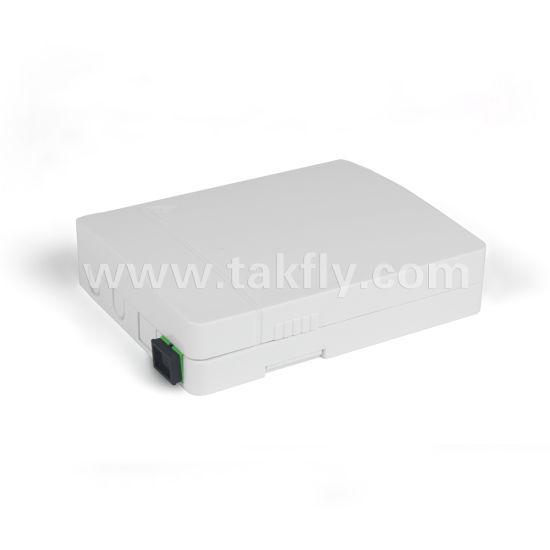 China Factroy 2 Ports Fiber Optic Termination Box